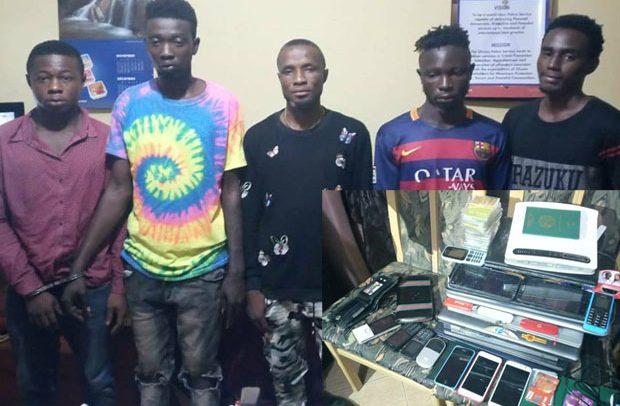 5 Ashaiman Nigerian Sakawa Boys Grabbed - DailyGuide Network