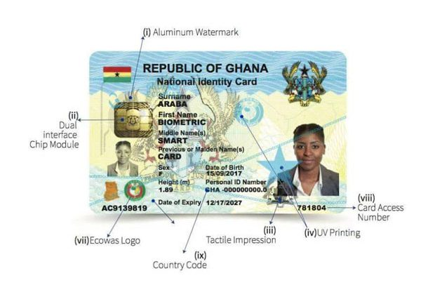 Controller Insists On Ghana Card For Salary Payment