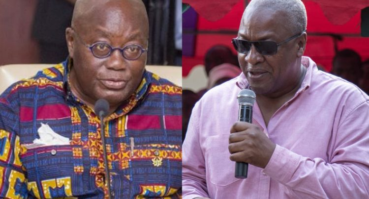 Mahama Calls Nana 'Father Of Vigilantism'