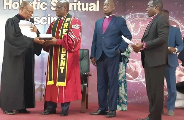 Baptist Convention Inducts New Executives