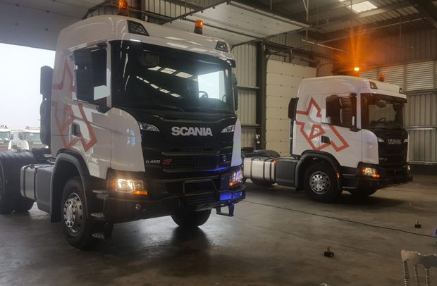 Scania West Africa Outdoors New Trucks In Tema