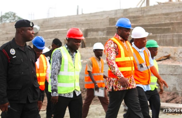 Minister Impressed With Works …On Youth Resource Centres