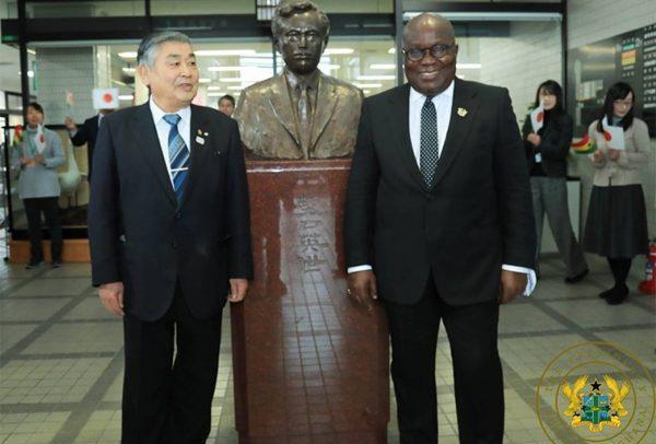 Akufo-Addo Visits Noguchi's Birth Place