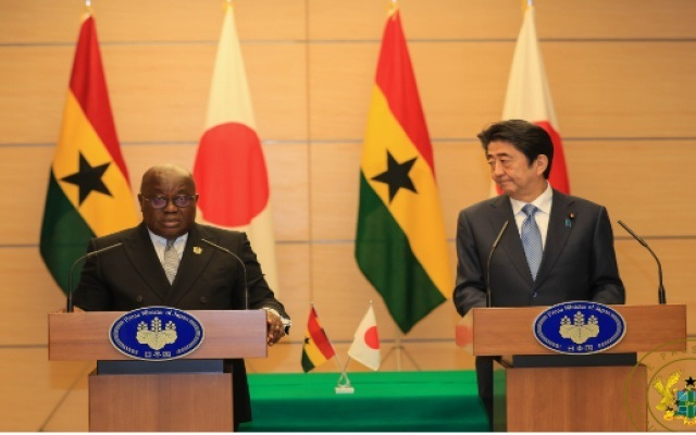 Ghana Gets $57m Japanese Grant For N8