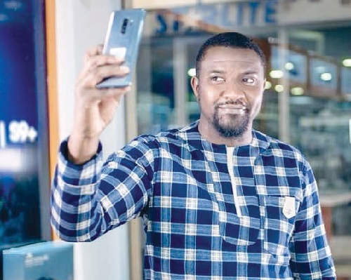 John Dumelo Bemoans Lack Of Mobile Phone Companies In Africa