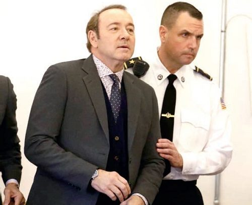 Kevin Spacey In Court Over Charges Of Groping Teenager