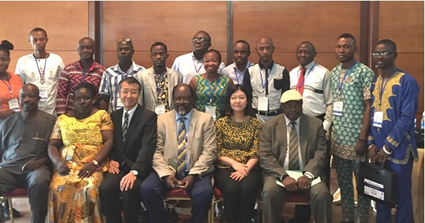 Noguchi, JICATrain West African Health Officers