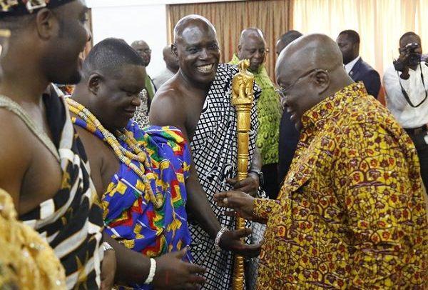 Establish Commission of Enquiry To Probe Ga Mantse Issues – Ga Chiefs To Akufo-Addo