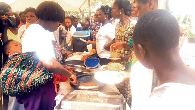 Obonu FM Hosts Kenkey Party