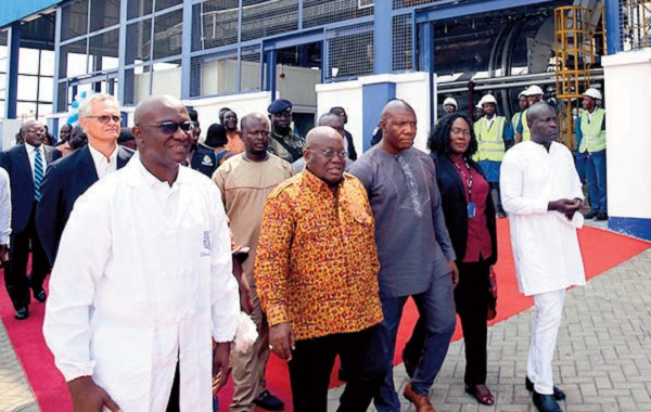 Akufo-Addo Commissions 3 Factories