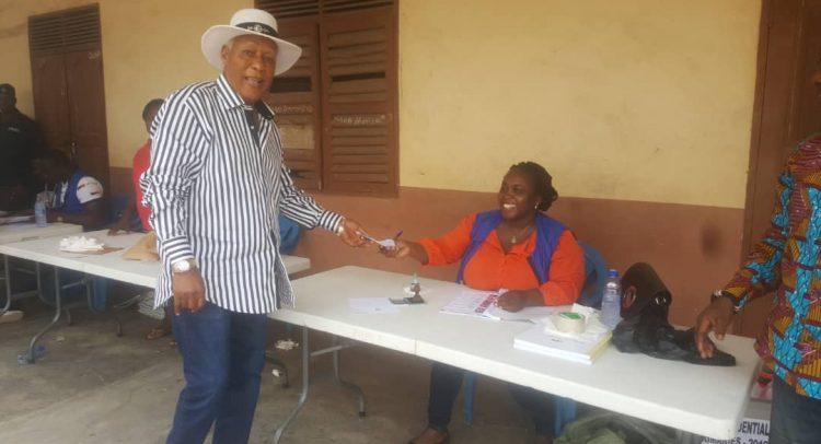 NDC Presidential Primary: E.T. Mensah Snubs Sam George