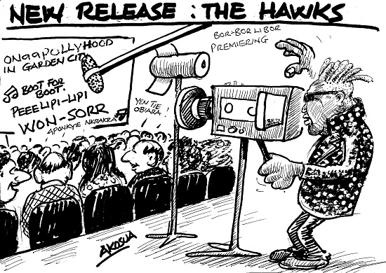 NEW RELEASE: THE HAWKS