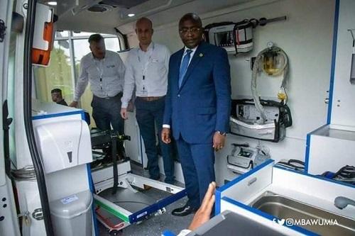 Dr. Da Costa Applauds Gov't over New Ambulances