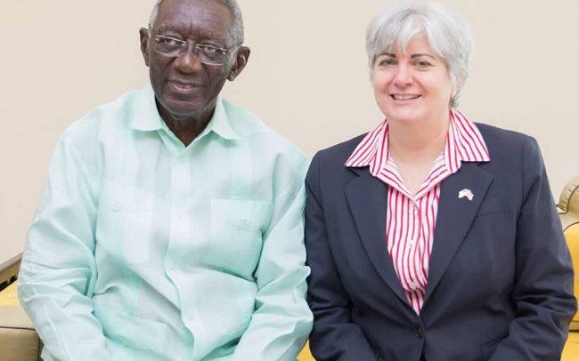 US Envoy Visits Kufuor, Rawlings, Mahama