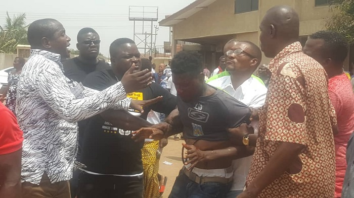 NDC Presidential Primary: One Injured In Sam George's Orchestrated Fight