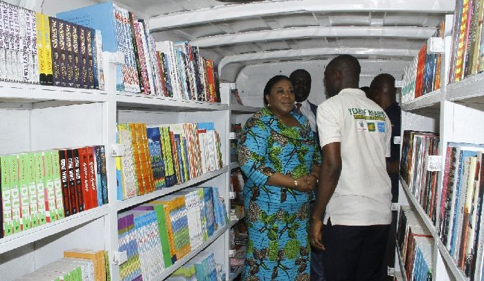 Rebecca Launches 'Year of Reading'