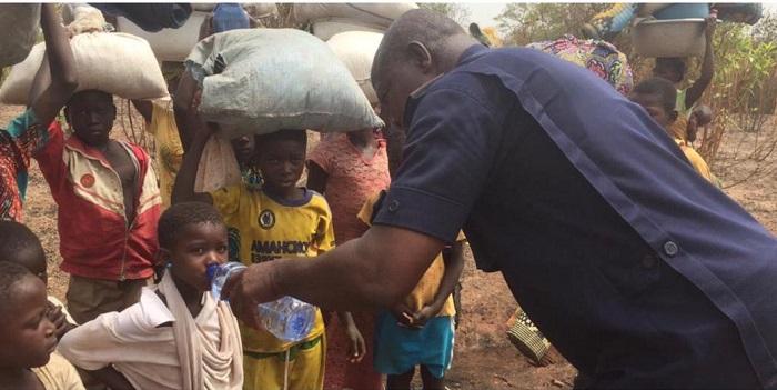 Women , Children Flee Chereponi Over Clashes