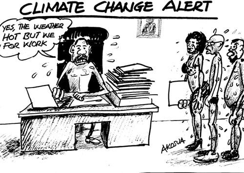 CLIMATE CHANGE ALERT