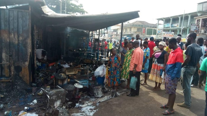 Fire Kills Boy, 13, In Kumasi