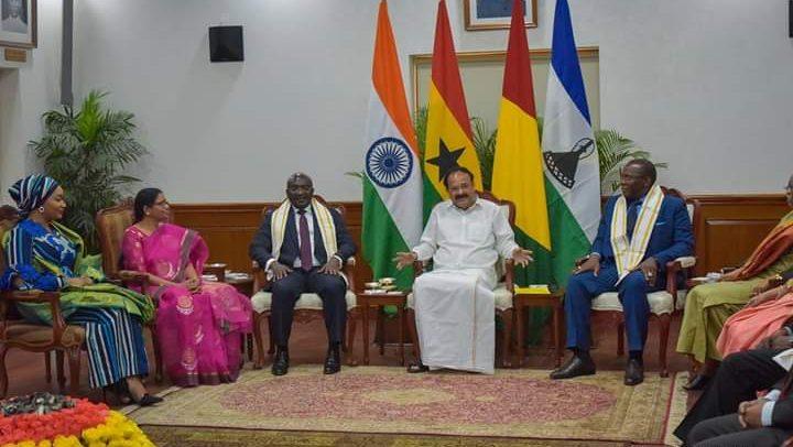 Bawumia Visits India's Vice President