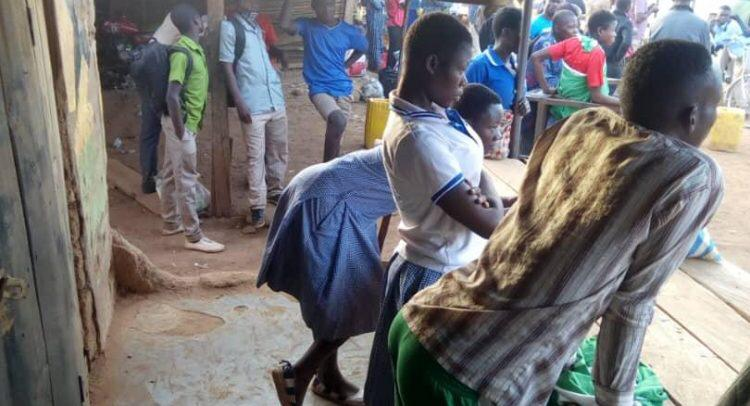 Chereponi Technical School Students Besiege Police Station