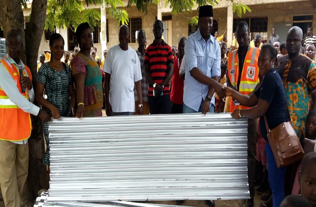 Suhum MP Assists Constituents