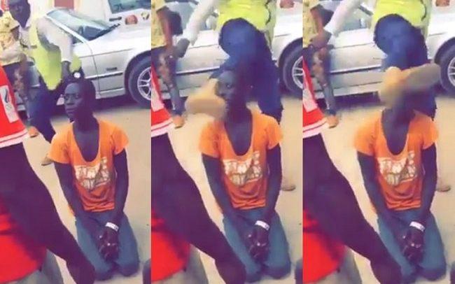 Swedru Municipal Guard Who Kicked Boy's Head Arrested