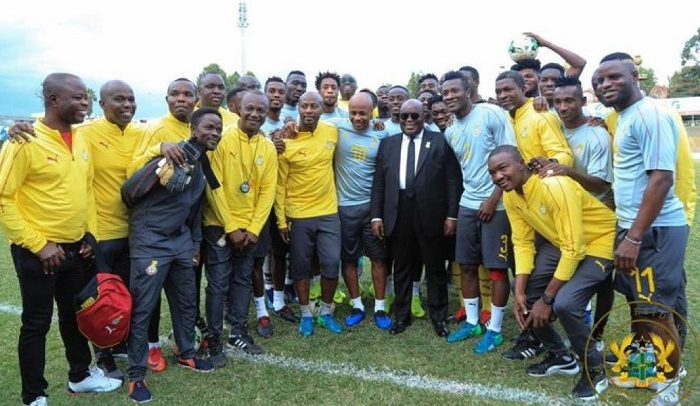 Nana Charges Stars To Win AFCON
