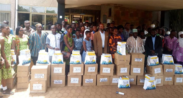 GPHA Donates 2,000 Mathematics Books To Schools In NR,UWR,UER