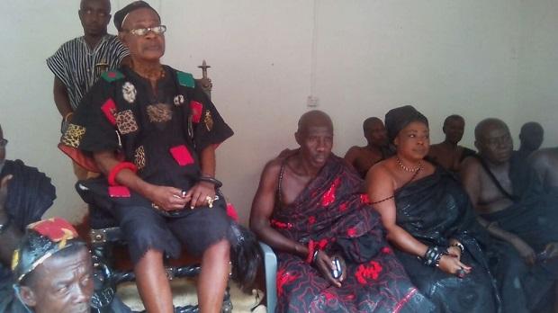 Okyeman Youth Association Mourn With Okyenhene