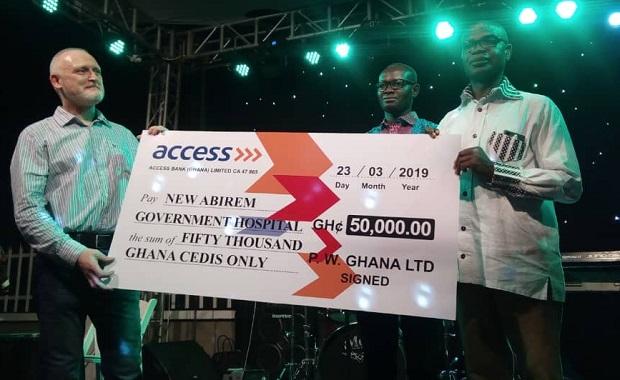 PW Donates Ghc 50,000 To New Abirem Gov't Hospital