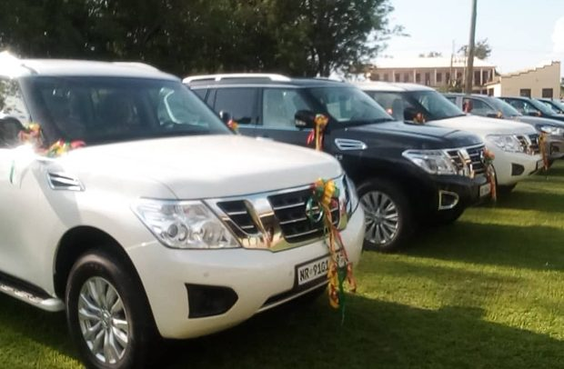 Akufo-Addo Presents 8 Cars To Ahafo Region RCC