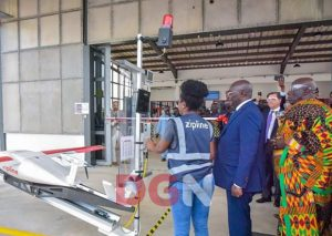 Ghana Commissions First Medical Drone Delivery Centre