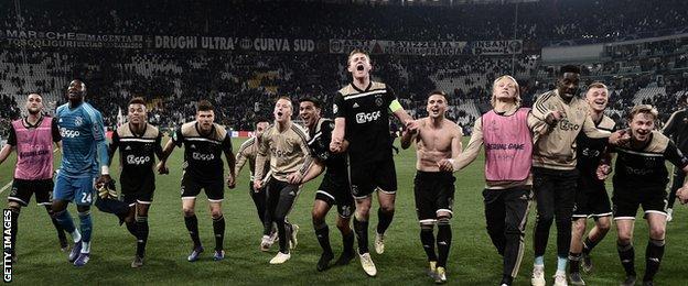 Messi Crashes Man Utd; Ajax Stops Ronaldo