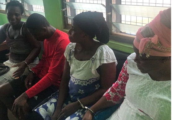 Four Arrested For Stealing Baby