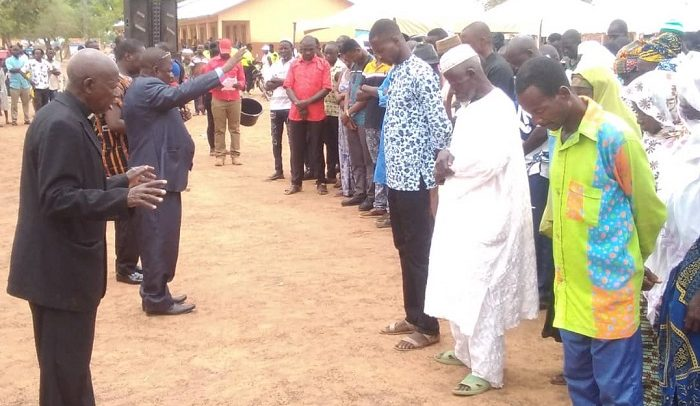 Garu Residents Mourn 47 Kintampo Accident Victims