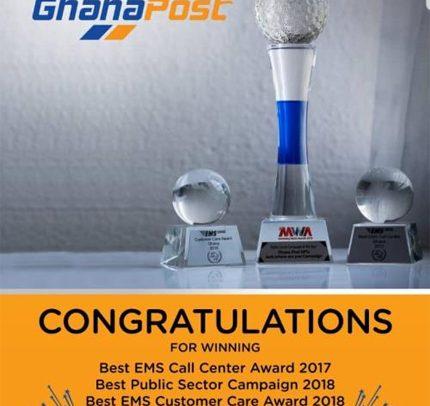 Ghana Post Grabs Int'l Award