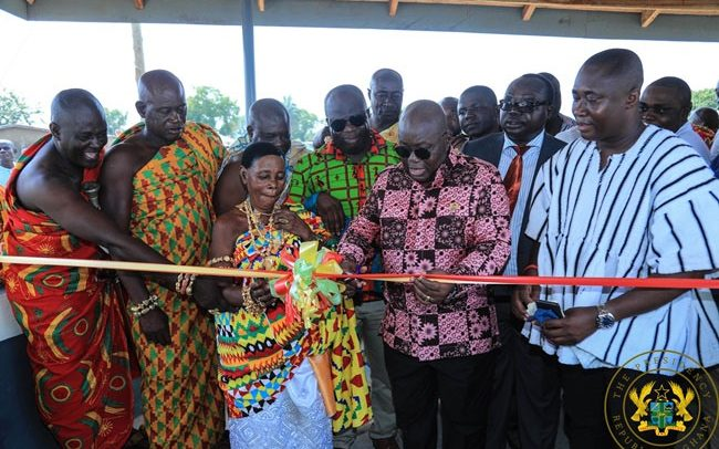 Akufo-Addo Assures Of Equitable Distribution Of Infrastructure Across New Regions
