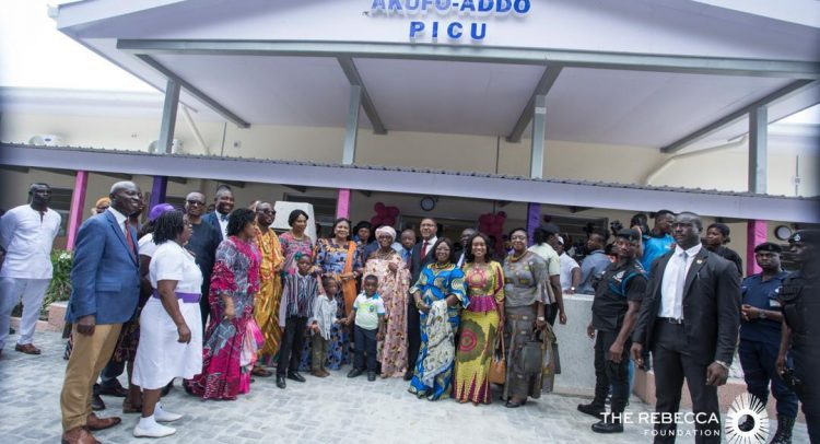 First Lady Commissions New Intensive Care Unit At Korle Bu