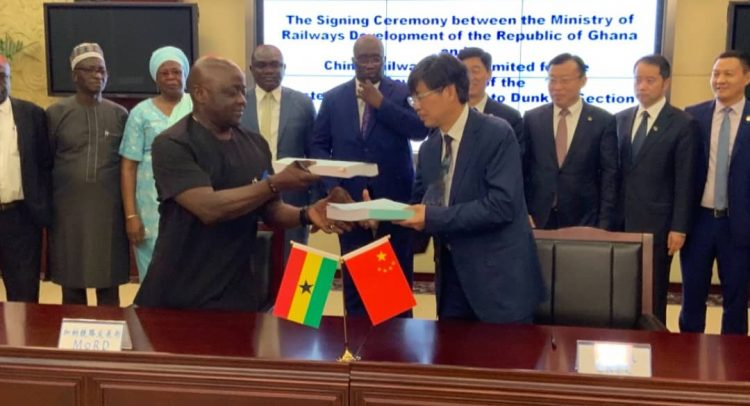 Ghana, China Sign  Railway Deal