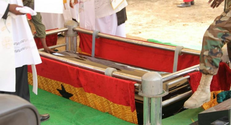 Former Council Of State Member Rev Kofi Ayeebo Laid To Rest