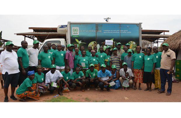 OCP Ghana Intensifies Soil Testing Project