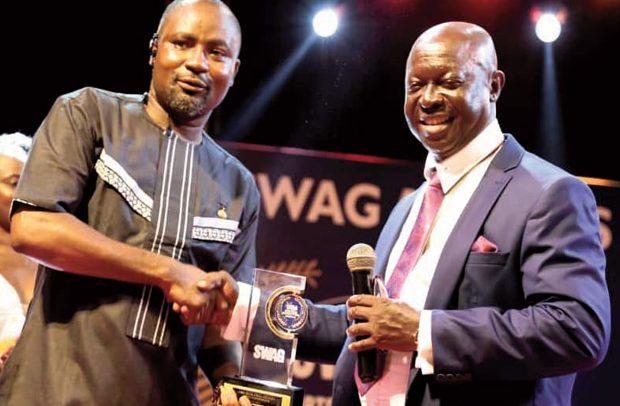 SWAG Honours Osei Asibey
