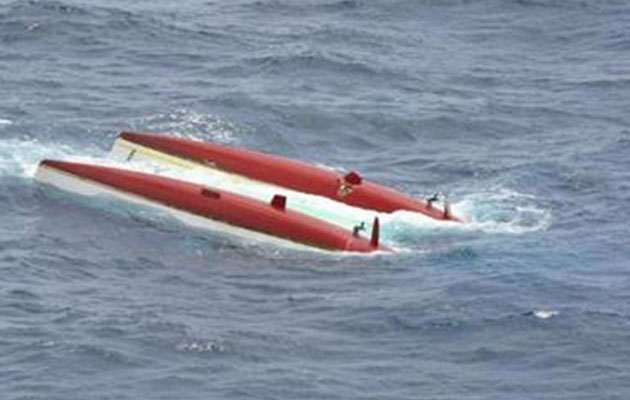 Boat Packed With Footballers Capsizes