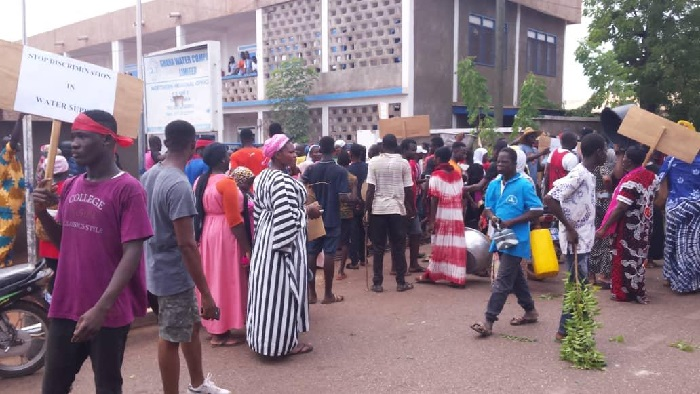 Demo Hits GWCL Over Water Crisis