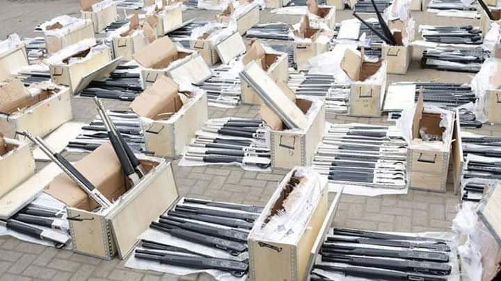NDC Panic Over Guns Importations