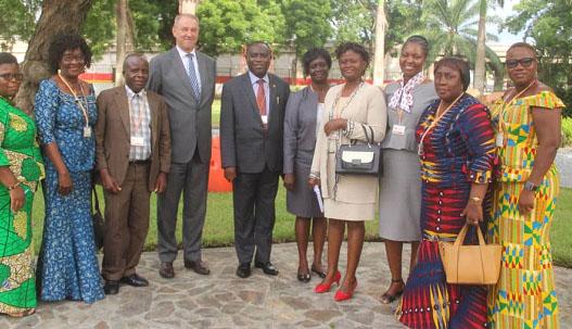 Liberia Understudies Ghana's N&MC