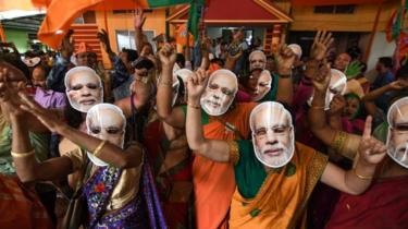 Landslide Win For PM Modi In India Election