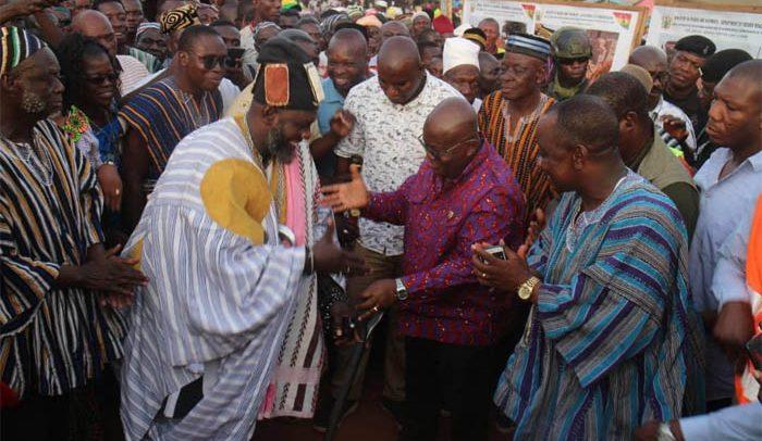 Nana Calls For Lasting Peace In Chereponi