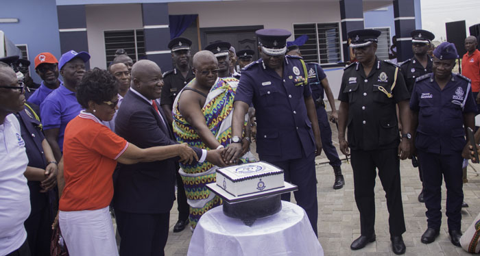 IGP Demands Terror Vigilance • Commissions Tema C25 Police Station